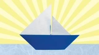 getlinkyoutube.com-Origami Sailboat (Folding Instructions)