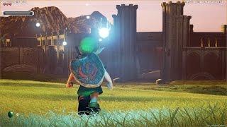 getlinkyoutube.com-Unreal Engine 4 [4.13.1] Zelda Ocarina of Time / Hyrule Field + Download link