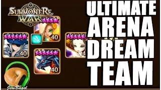 getlinkyoutube.com-SUMMONERS WAR : THE ULTIMATE ARENA DREAM TEAM!!!!