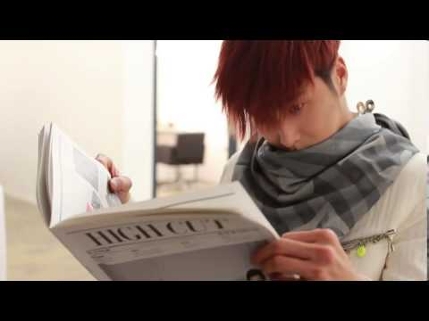 YUNHO @ HIGH CUT vol.102 behind cut