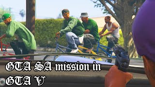 GTA San Andreas First Mission in GTA V!