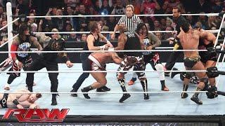getlinkyoutube.com-16-Man Fatal 4-Way Elimination Tag Team Match: Raw – 7. Dezember 2015