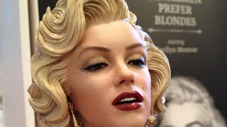 getlinkyoutube.com-MarilynGeek Sneak Peek Blitzway Marilyn Monroe Statue