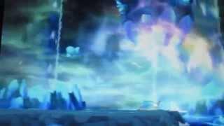 getlinkyoutube.com-【ポケモンOR・AS】『めざめのほこら』 ゲンシカイオーガ・バトル&ゲット アクア団(アオギリ)&マグマ団(マツブサ)のルネシティーイベント