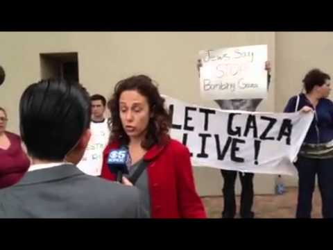 Jews of Conscience Disrupt Rally Supporting Israeli War
