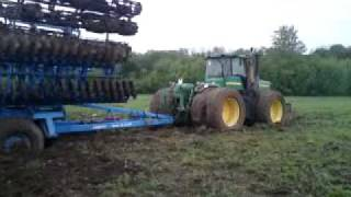 getlinkyoutube.com-John Deere 9520+ Lemken tarcsa elallt.MP4