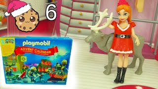 getlinkyoutube.com-Playmobil Holiday Christmas Advent Calendar - Toy Surprise Blind Bags  Day 6