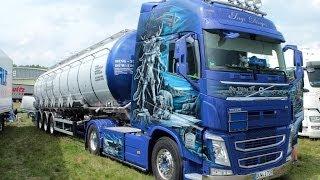 VOLVO FH AIRBRUSH TRUCK INGO DINGES Wolfsmeile Truck Treffen