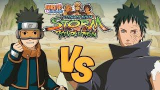 getlinkyoutube.com-Naruto Shippuden Ultimate Ninja Storm Revolution: Young Obito Vs Obito (Rinnegan)