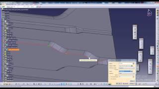 getlinkyoutube.com-Complex sheet metal part tutorial CATIA V5 (part 3)