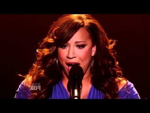 X Factor USA - Melanie Amaro - The world's Greatest - Live Sow 5 - Top 9