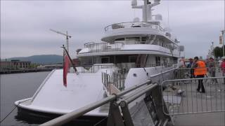 getlinkyoutube.com-Hampshire 11 Super Motor Yacht, Belfast Harbour