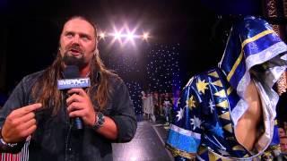 getlinkyoutube.com-Austin Aries Has a Special Guest to gain retribution from James Storm and Sanada (Sept. 9, 2014)