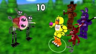 [SFM FNAF] FNAF World Gameplay