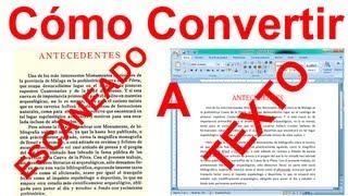 getlinkyoutube.com-Como Convertir una Imagen ESCANEADA a Texto Word SIN Programas (Fácil)