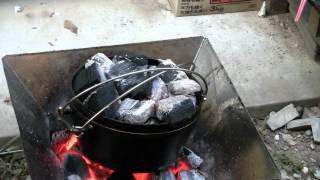 getlinkyoutube.com-ダッチオーブン 炊飯