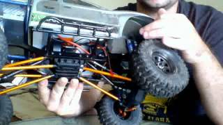 Scx10 Trail Honcho w/ many upgrades from RC4WD