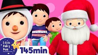 getlinkyoutube.com-Christmas Songs Compilation! | Huge! | Plus Over 2 Hours of Nursery Rhymes by LittleBabyBum!