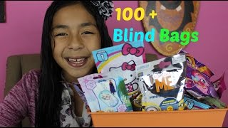 getlinkyoutube.com-Monday Blind Bag Bin My Little pony LiHello Kitty LPS DM2 Super Mario