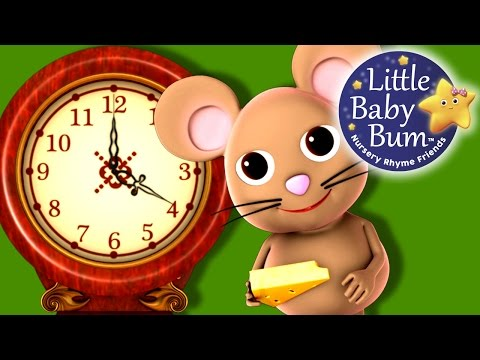 Hickory Dickory Dock | Nursery Rhymes | Hd Version