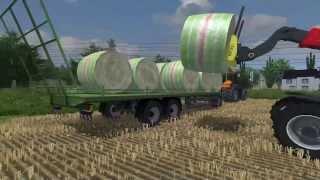 getlinkyoutube.com-ramassage de ballot farming simulator 2013