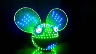 getlinkyoutube.com-Best Deadmau5 head homemade LED