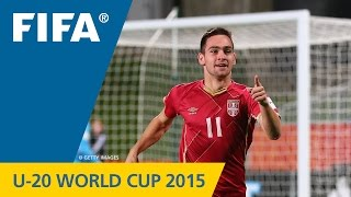 U-20 World Cup TOP 10 GOALS: Andrija Zivkovic (Serbia v. Mexico)