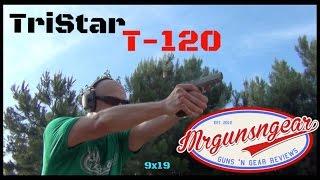 getlinkyoutube.com-Tristar T-120 9x19 Handgun Review (HD)