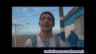 interviste a fine partita Cariatese - Cariati risultato finale 2-1