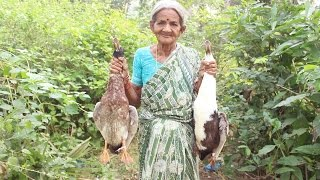 getlinkyoutube.com-How To Cook Duck Curry My Grandma Village Style || Myna Street Food || Food Info