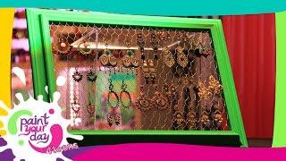 getlinkyoutube.com-Come fare un porta orecchini: Paint Your Day 4 Teens - Frisbee