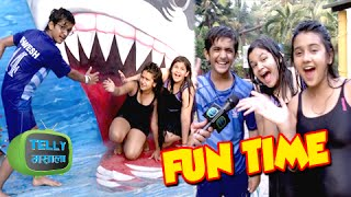 getlinkyoutube.com-(Video) Roshni Walia, Saloni & Bhavesh Have Fun At Water Kingdom