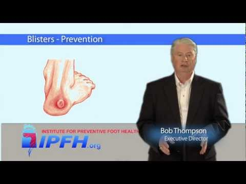 Blisters - Prevention