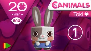 getlinkyoutube.com-Canimals | Collection 09 (Toki 1) | Full episodes for kids | 20 minutes
