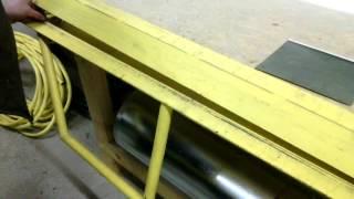 Листогиб самодельный / Sheet bending machine