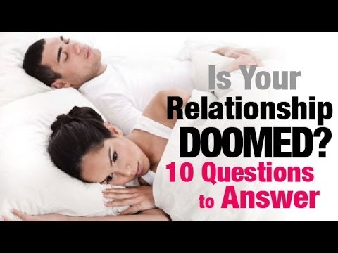 Is Your Relationship DOOMED?! 10 Simple Questions to Answer @TonyaTko Advice
