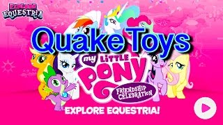 getlinkyoutube.com-Update My Little Pony Cutie Mark Magic Game Friendship Celebration App QuakeToys Lets Play 2