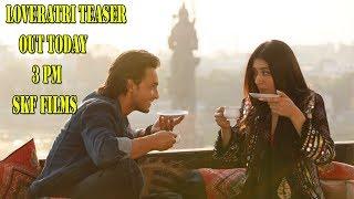 Loveratri Teaser At 3 Pm Today I Salman Khan I Ayush I Warina