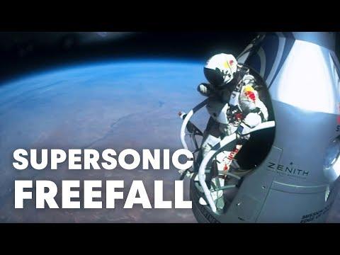 Felix Baumgartner's supersonic freefall from 128k' - Mission Highlights