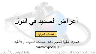 مراجعة أعراض صديد البول - مسالك #1610 | Urine pus