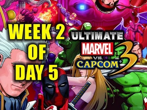 Week 2 of UMVC3! Day 5