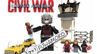 getlinkyoutube.com-【レゴ】マーベル最新作「キャプテンアメリカ・シビルウォー」から巨大アントマン-ジャイアントマンをレビュー CAPTAIN AMERICA CIVIL WAR MARVEL SUPERHEROES