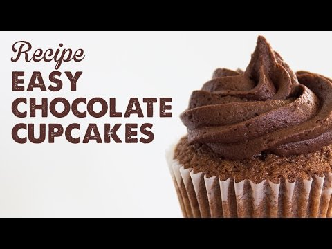 Recipe: Easy Chocolate Cupcakes | A Thousand Words