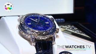 "getlinkyoutube.com-The Patek Philippe approach to ""Métiers d'Art"": launch of a special Sky Moon"