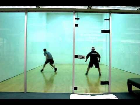 How to Play Racquetball - Adam Gameplay Analysis
