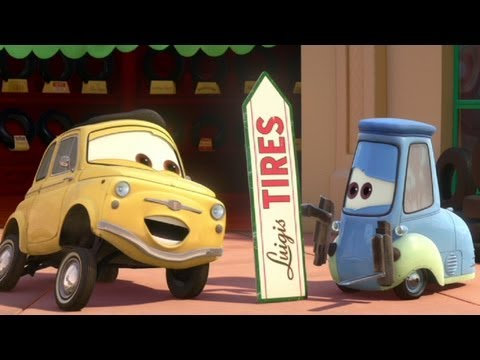 Tales From Radiator Springs - Spinning