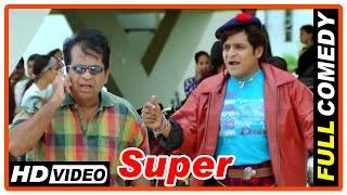 getlinkyoutube.com-Super Tamil Movie | Full Comedy Scenes | Nagarjuna | Ayesha Takia | Anushka | Brahmanandam