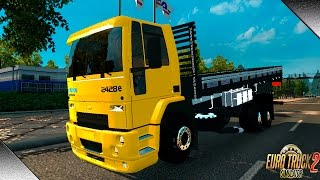 getlinkyoutube.com-Euro Truck Simulator 2 -- Mod Ford Cargo  2428 v.1.18