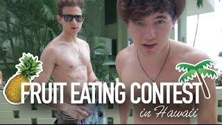 getlinkyoutube.com-Fruit Eating Contest in Hawaii