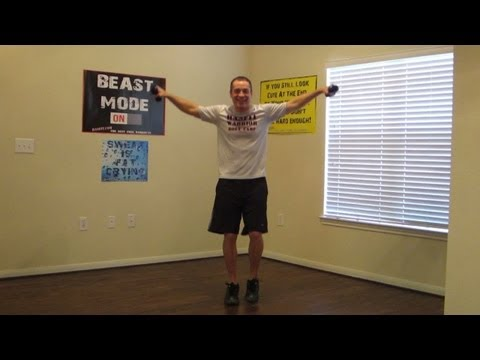 15 Minute Low Impact Workout - HASfit Easy Workouts - Easy Exercises - Beginner Workout Exercises